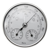 Original 130mm 970 ~ 1040hPa colgante de pared estación meteorológica Termómetro barómetro higrómetro