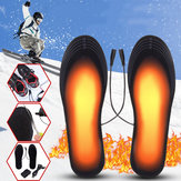 5V 2A Pieds chauffants électriques Semelles intérieures de chaussures Chauffe-pieds chauffant USB Désodorisant respirant avec adaptateur