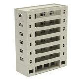 Models Railway Dormitory School Building Unpainted Scale 1:160 N HO FOR GUNDAM