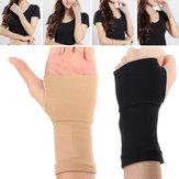 2X apoio de pulso mão elástico protector dor da artrite manga luva cinta cinta