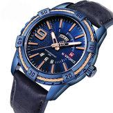 NAVIFORCE 9117 Business Style Calendar Men Wrist Watch