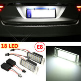 2x Error Free 18 LED SMD Number License Plate Light Lamp For Chevy Camaro Cruze