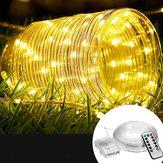 12M Batería Powered 120LED luz de cadena 8 modos Control remoto Fairy Lámpara fiesta de Navidad decoración para el hogar