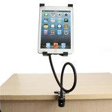 Gooseneck 360 ° tournant paresseux lit bureau support de support de support de téléphone pour iPad 2/3/4 Air 5 '' - 9.5 '' Tablet PC