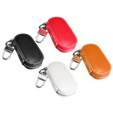 Universal Genuine Leather Car Key Case/Bag Zipper Holder Organizer with Keychain Ring 4 Colors