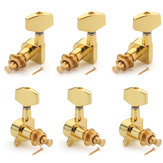 6pcs or guitare cordes tuning Pegs Tuners Machine Heads pièces de guitare