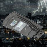 20W 40 LED Solar Radar activado por movimiento Sensor Wall Street Light para al aire libre
