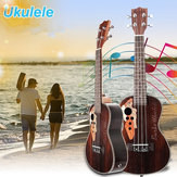 Original 21 Inch Four Strings Rosewood Ukulele Guitar With Grape Shape Holes