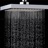 KCASA KC-SH604 Top Spray Espessado Pressurizado Rotatable Rainfall Shower Head Square aço inoxidável Top Spray Head