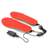 3.7V 1200mAh Electric Heated Shoe Insoles Foot Warmer Heater Feet Battery Warm Socks Ski Boot