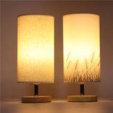 E27 Modern Wooden Desk Lamp  Eye-Care Fashion Night Light for Wedding Bedroom Home Decor