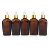 5pcs bouteilles réutilisables de parfum de pipette