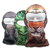 Motorcycle Under Helmet Face Mask Balaclava Bicycle Thermal Mask Snood Hat