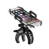 BlitzWolf® BW-MH2 Heavy Duty Bike PhonE-mount Holder with Tight Rubber Band & 360 degree Rotate
