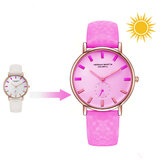 HANNAH MARTIN Solar UV Sensor Color Change Quartz Watch