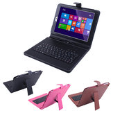 Folding Stand Keyboard Leather Case Cover For Onda V975W