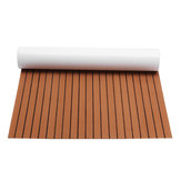 240cmx120cm Upgrade Brown EVA Foam 6mm Thickness Faux Teak Boat Flooring Decking Sheet Pad