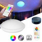 ARILUX 30W RGBCCT Wifi Smart LED Deckenleuchte Fernbedienung und APP Voice Control Kronleuchter für Alexa
