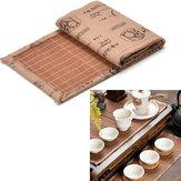 Bamboo Tea Ware Mat Tea Tray Cup Mat Coaster Kungfu Tea Accessaries
