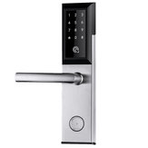 Mobile App Remote WiFi Bluetooth Smart Door Lock Padlock Password+2 Keys+2 Cards