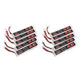 10 pièces URUAV 3.8V 300mAh 40 / 80C 1S HV 4.35V PH2.0 Lipo Batterie pour Eachine TRASHCAN Snapper6 7 8 US65