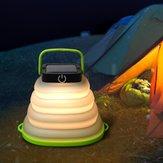 LUSTREON Solar Colgante plegable portátil cámping Linterna Carpa Luz LED Emergencia Lámpara Impermeable