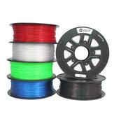 CCTREE® 1.75mm 1KG / Roll Noir / Blanc / Bleu / Rouge / Vert / Transparent Filament PETG pour Creality CR-10 / CR10S / Imprimante 3D Ender 3 / Tevo / Anet