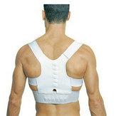 Corrector de Postura Magnético Cinturón de Soporte de Espalda