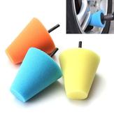 Original Cono de esponja de 6 mm con mango de espuma almohadilla de espuma almohadillas de pulido Accesorios Taladro