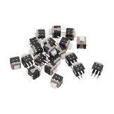 20 Pcs Tact Tactile Bouton-Poussoir Interrupteur Auto Verrouillage Tactile Surface Mont SMD Commutateur 6-Pin