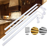 DC12V 4PCS 50CM SMD5730 Kitchen Under Cabinet Counter LED Rigid Strip Light Showcase Fixture