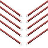 Original 10UDS Cable de Equilibrar 2.54XH 22AWG 13CM 2S Cable de Silicona para Baterías de Lipo
