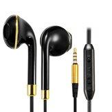 Kanen IP-809 dans l'oreille de sport filaire écouteurs avec microphone