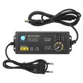 KJS-1509 3-12В 5A Адаптер питания Регулируемый адаптер напряжения LED Дисплей Импульсный источник питания