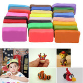 24 Pcs Colorful Soft Polymer Plasticine Effect Clay Blocks DIY Clay Crafts Educational Toy