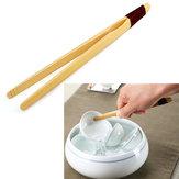Natural Bamboo Tea Tweezers Clamp Kung Fu Tea Accessaries