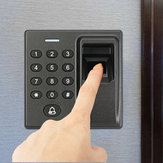 Door Access Control System Fingerprint RFID Card Reader Password 3 Way Lock Control Keypad