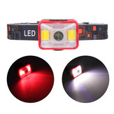 XANES YD-21 550LM XPE LED+2*COB LED 5 Modes Multifunctional Bike Headlight USB Rechargeable Mini Headlamp