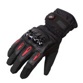 Tough Screenn Full Finger Protective Motorcycle Racing Gloves Waterproof Pro-Biker MTV-08