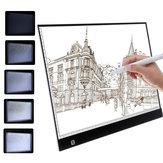 A3/A4 LED Copy Board Art Craft Drawing Tracing Tattoo Light Box Pad + USB Cable