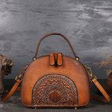 Women Genuine Leather Vintage Handbag