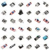 Geekcreit® 37 en 1 Equipo de Conjunto de Placa de Módulo del Sensor para Arduino