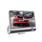 4.3inch 1080P IPS Screen Car DVR 3 Lens Dash Camera Recorder Rear View G-sensor