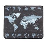 Alfombrilla pequeña para mapa del mundo 300 * 250 mm antideslizante Impermeable Overlock Gaming Mouse Pad Mat