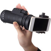10X40 Universal Hiking Concert Camera Lens Zoom Telescope Smartphone Holder