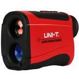 UNI-T LM600 600M Laser Rangefinder Distance Meter Monocular Telescope Speed Tester  Hunting Golf Outdoor