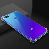 Bakeey Air Bag Antichoc Transparent Soft Housse de protection en TPU pour Xiaomi Mi8 Mi 8 Lite 6.26 pouces