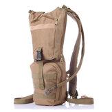 Men Nylon C amelbak Backpack Tactical Hydration Pack with 3L Bladder for Hiking, Biking, Climbing