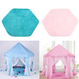 AntideslizanteBabyPlayMatShortCabello Juego felpa Mat Tienda para niños Hexagon Princess Castle Playhouse Pad