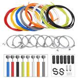 BIKIGHT2mMulticolorbicicletafrente de bicicleta trasero interior exterior Alambre cable de freno kit de reparación de ciclo
